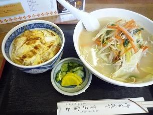 もやしラーメン&カツ丼.jpg