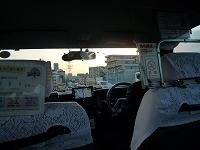 タクシー乗車、新横浜方面へ.jpg