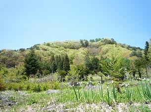 志賀城を東側から.jpg