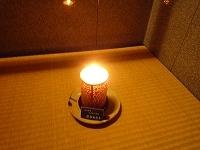 階段踊場の蝋燭.jpg