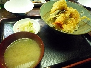 天丼と蜆汁.jpg