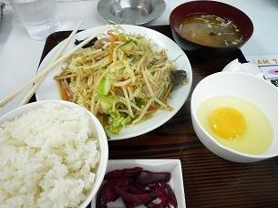 朝の野菜炒め定食.jpg
