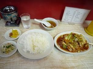 肉味噌炒め定食1.jpg